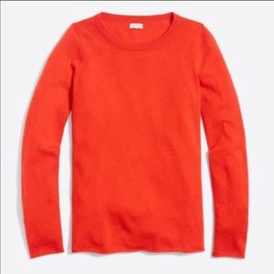 J. CREW Factory 100% Cashmere Pullover Sweater
